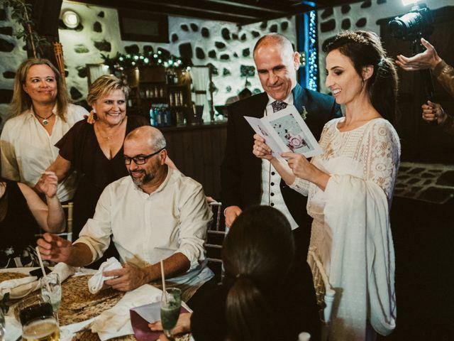 La boda de César y Elena en Los Rodeos (Isla De Lanzarote), Las Palmas 79
