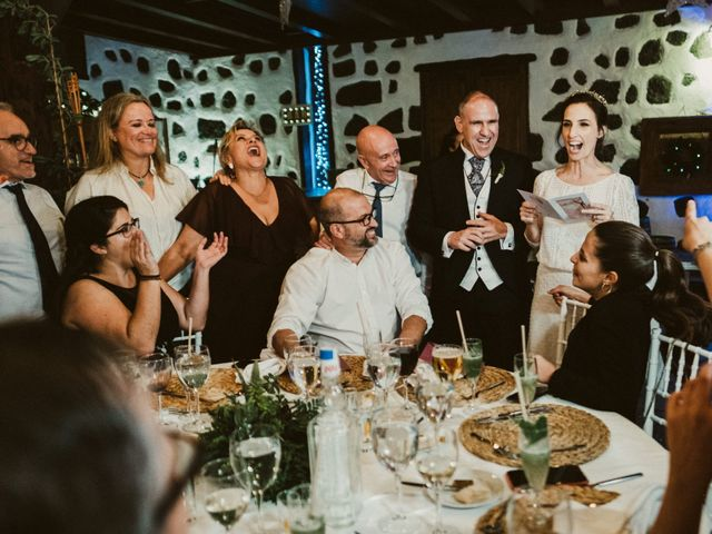 La boda de César y Elena en Los Rodeos (Isla De Lanzarote), Las Palmas 80
