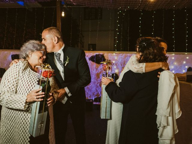 La boda de César y Elena en Los Rodeos (Isla De Lanzarote), Las Palmas 82