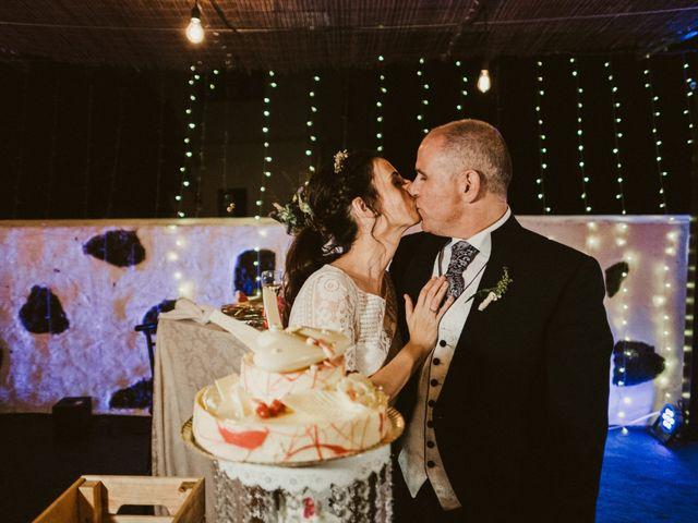 La boda de César y Elena en Los Rodeos (Isla De Lanzarote), Las Palmas 85