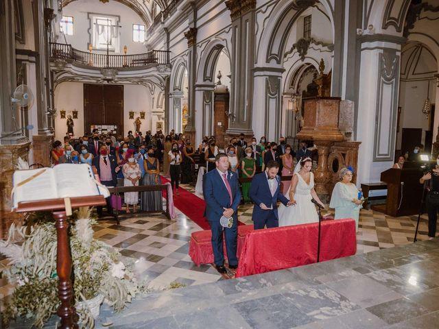 La boda de Daniel y Nazareth en Málaga, Málaga 35