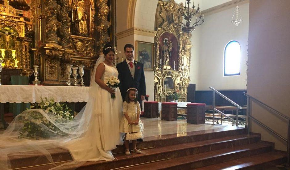 La boda de Rafael  y Meliza  en Baena, Córdoba