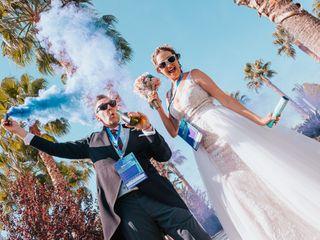La boda de Elena y Flavio