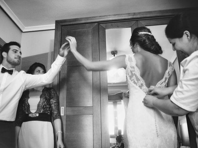 La boda de Jorge y Eva en Valdastillas, Cáceres 12