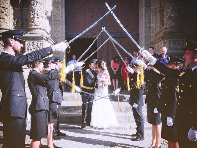 La boda de Jorge y Eva en Valdastillas, Cáceres 22