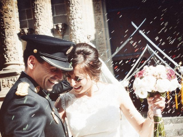 La boda de Jorge y Eva en Valdastillas, Cáceres 25