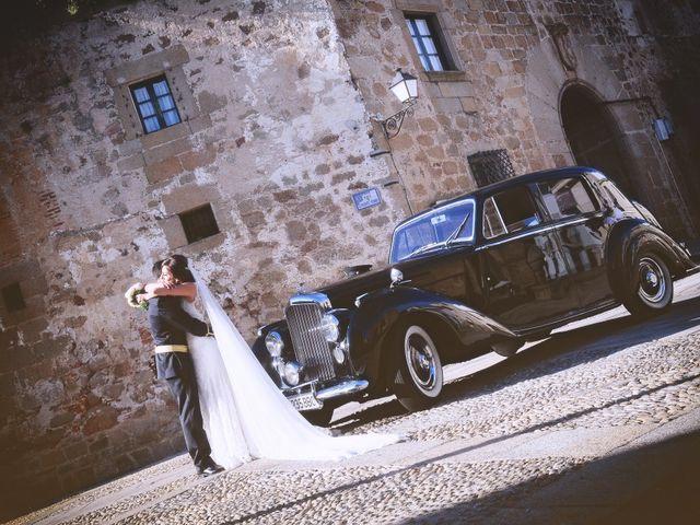 La boda de Jorge y Eva en Valdastillas, Cáceres 29
