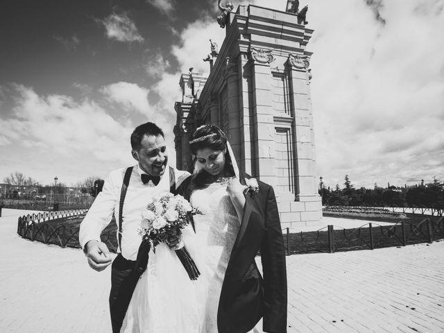 La boda de Roxana y Manuel