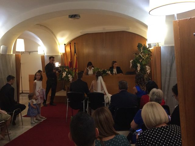 La boda de David y Bea en Castelldefels, Barcelona 1
