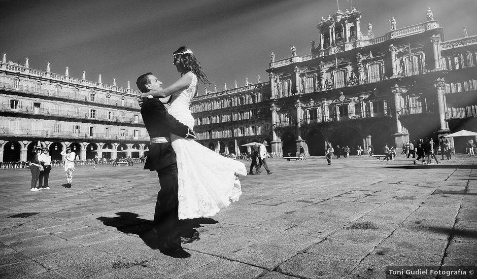 La boda de Jorge y Eva en Valdastillas, Cáceres