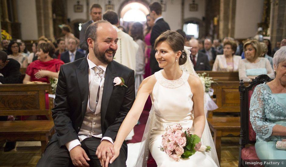 La boda de Erik y Carol en San Andres De Montejos, León