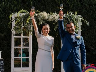 La boda de Hugo y Carolina