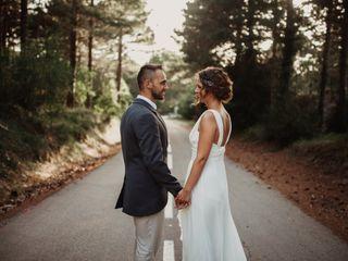 La boda de Agnès y Dani