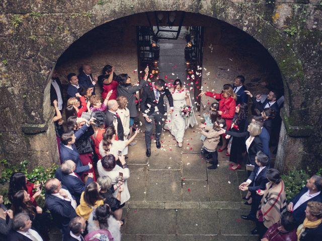 La boda de Adrián y María en San Tirso (Mens), A Coruña 44