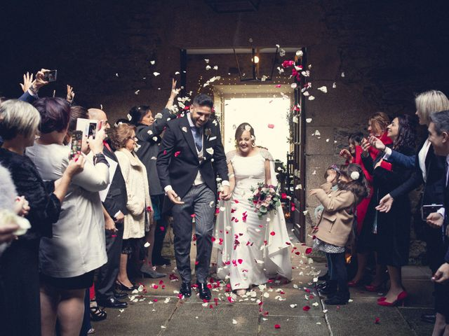 La boda de Adrián y María en San Tirso (Mens), A Coruña 45