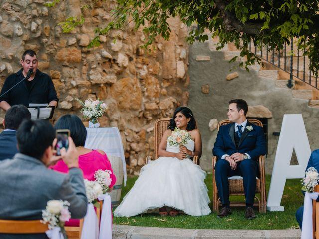 La boda de Abel y Adriana en Juneda, Lleida 36