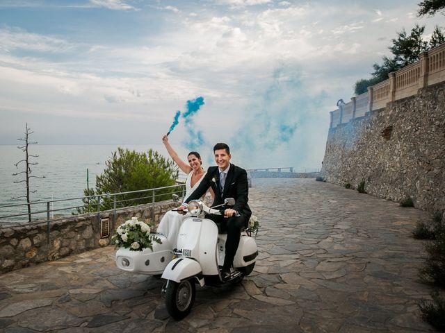 La boda de Maria y Hugo en Vilanova I La Geltru, Barcelona 1