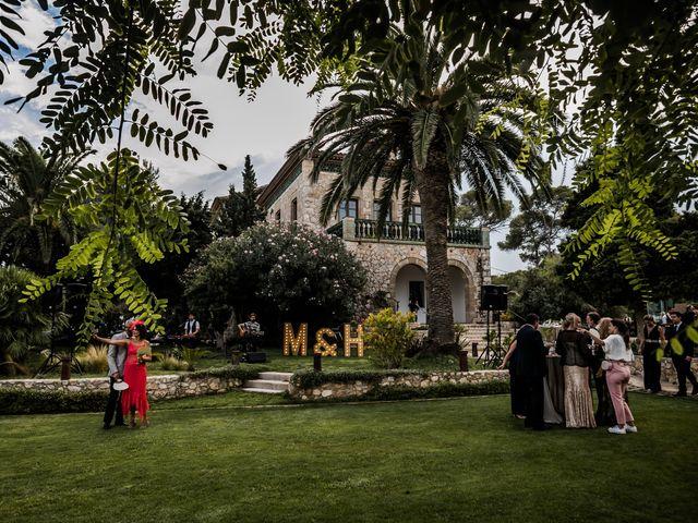 La boda de Maria y Hugo en Vilanova I La Geltru, Barcelona 48