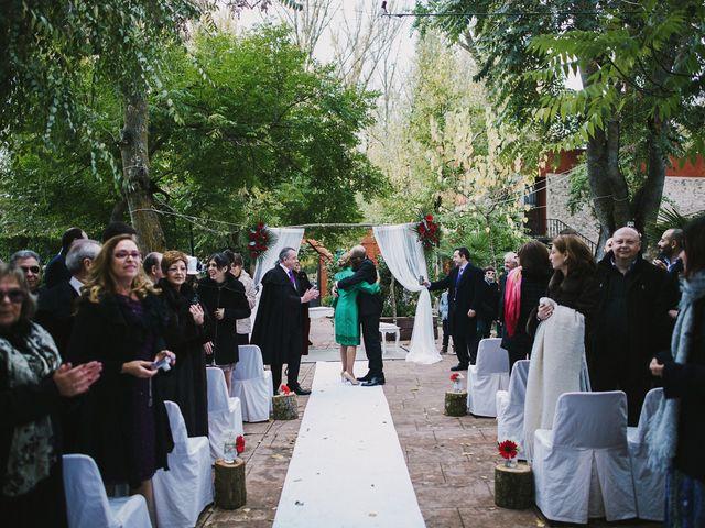La boda de David y Miriam en Saelices, Cuenca 60