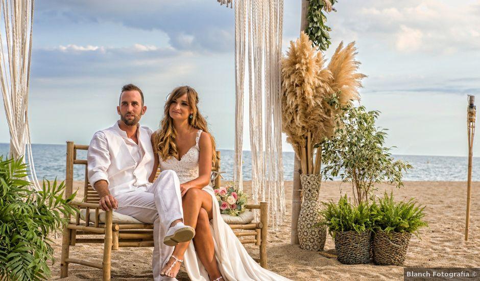 la boda de ismael y silvia en malgrat de mar, barcelona - bodas