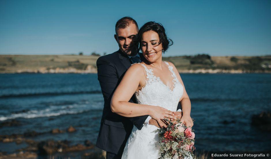 La boda de Victor y Isaura en Luanco, Asturias