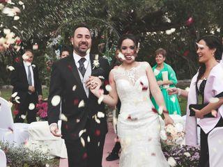 La boda de Iris y José