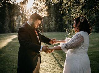 La boda de Vega y Javi