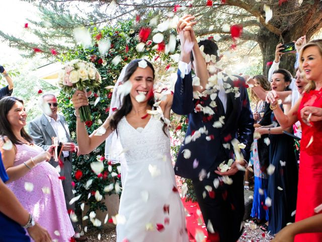 La boda de Héctor y Carla en Sant Fost De Campsentelles, Barcelona 31