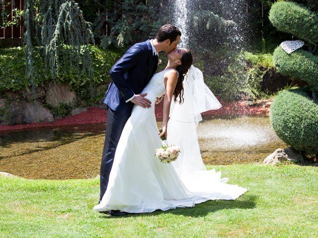 La boda de Héctor y Carla en Sant Fost De Campsentelles, Barcelona 41