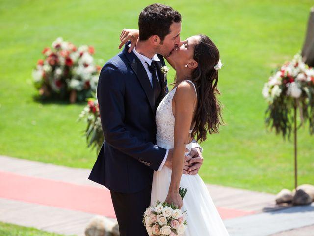 La boda de Héctor y Carla en Sant Fost De Campsentelles, Barcelona 48