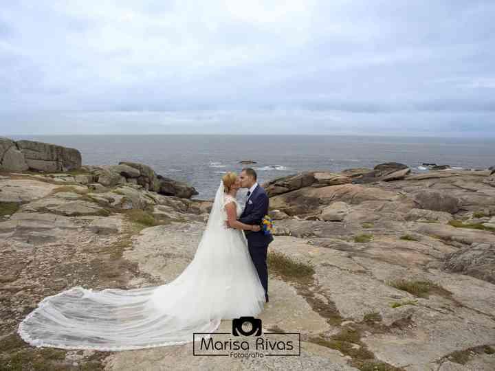 La boda de Barca y Martin