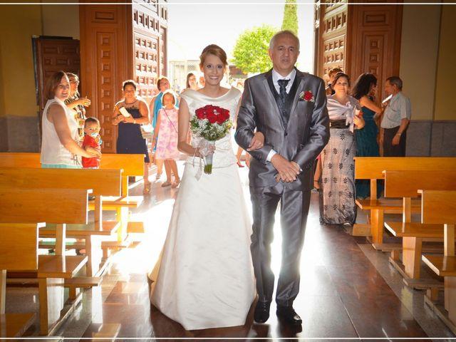 La boda de Alberto y Nuria en Yunclillos, Toledo 12