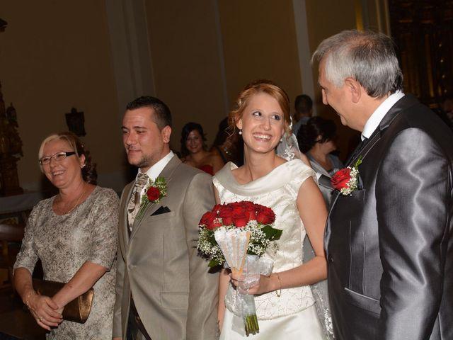 La boda de Alberto y Nuria en Yunclillos, Toledo 14