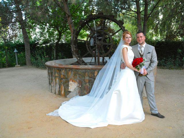 La boda de Alberto y Nuria en Yunclillos, Toledo 25