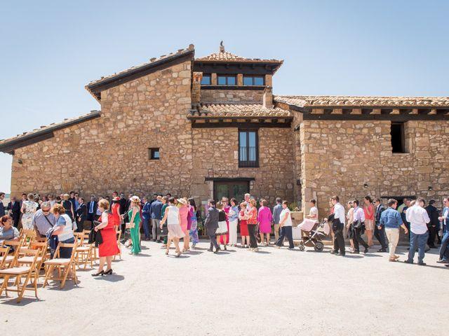La boda de Miguel y Maria en Mora De Rubielos, Teruel 16