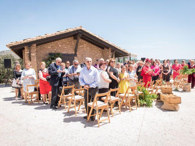 La boda de Miguel y Maria en Mora De Rubielos, Teruel 20