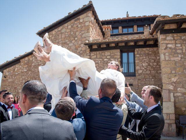 La boda de Miguel y Maria en Mora De Rubielos, Teruel 26