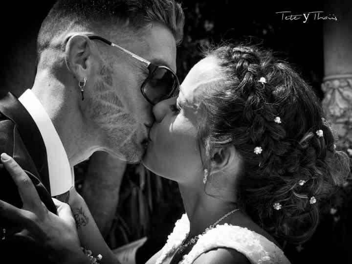 La boda de Thaiis y Tete