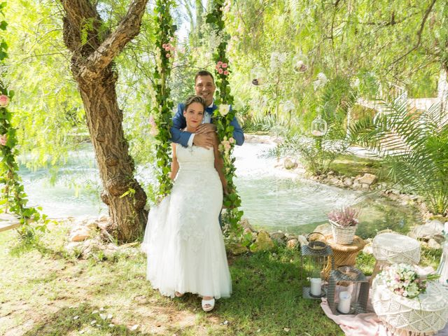 La boda de Mª José y Dani