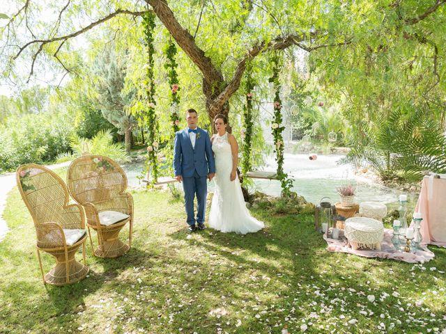 La boda de Dani y Mª José en L' Olleria, Valencia 17