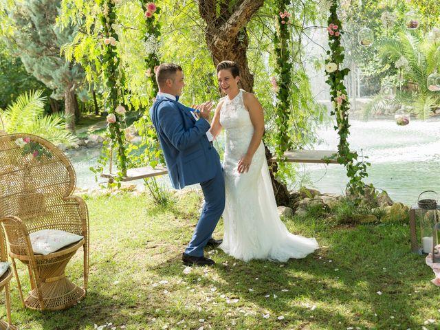 La boda de Dani y Mª José en L' Olleria, Valencia 19