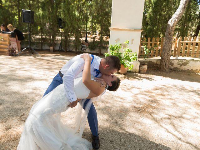 La boda de Dani y Mª José en L' Olleria, Valencia 2