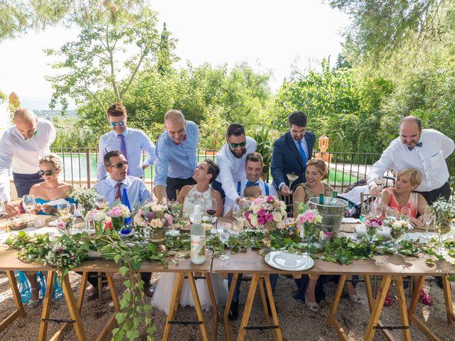 La boda de Dani y Mª José en L' Olleria, Valencia 25