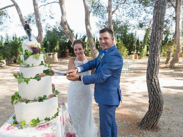 La boda de Dani y Mª José en L' Olleria, Valencia 27