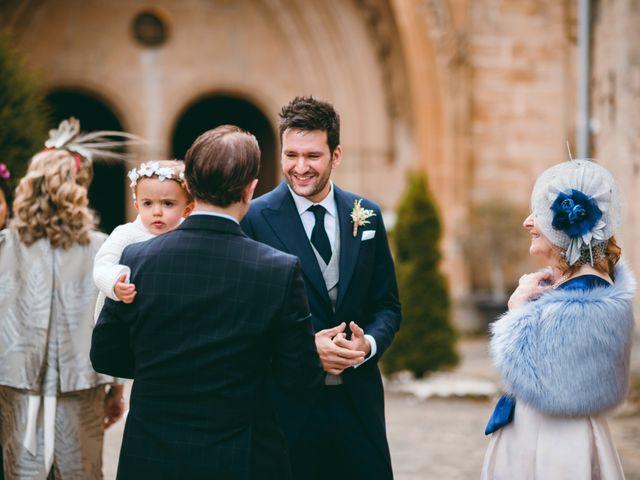 La boda de Diego y Elena en Santa Gadea Del Cid, Burgos 9