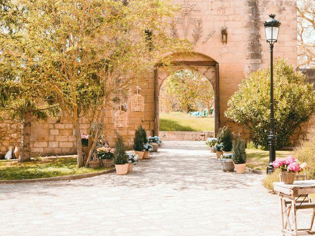 La boda de Diego y Elena en Santa Gadea Del Cid, Burgos 35