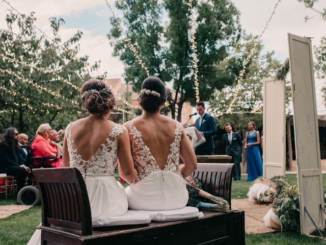 La boda de Laura y Erika en La Cañada De Calatrava, Ciudad Real 80