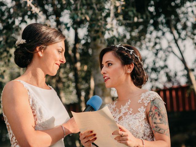 La boda de Laura y Erika en La Cañada De Calatrava, Ciudad Real 81
