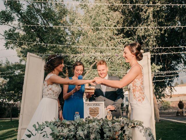 La boda de Laura y Erika en La Cañada De Calatrava, Ciudad Real 86