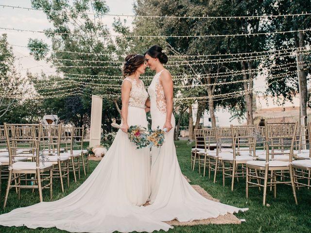 La boda de Laura y Erika en La Cañada De Calatrava, Ciudad Real 105